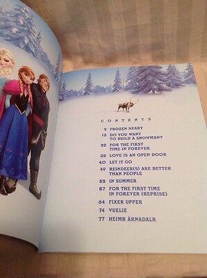 HAL LEONARD CORP Music Book FROZEN Soundtrack Sheet Music Piano Vocal  Guitar T28