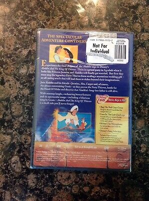 Aladdin and the King of Thieves (DVD,2005)NEW Authentic Bueno Vista Sealed 2