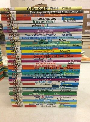 Lot of 10 Dr Seuss Beginner Books & Bright and Early Books! Free Shipping! 2