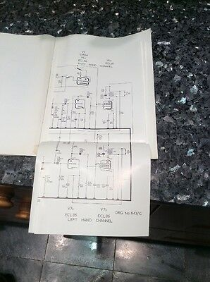 CRTS SERVICE MANUAL FOR Radiogram Chassis Type G.C.2. 3 • EUR 4,35
