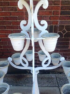 Rare Vintage Molla Tiered Garden Plant Stand Planter WILL SHIP 5