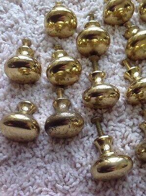 Vintage Brass Door Knobs Hardware 2