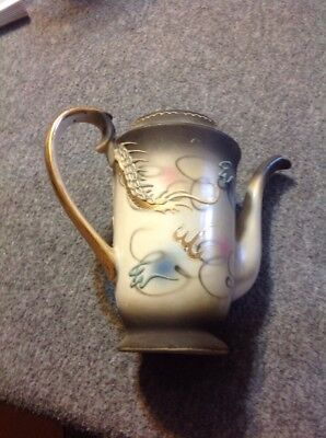 Vintage Teapot Made in Japan Hand painted - Without Lid