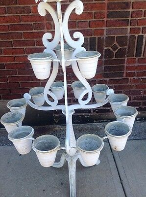 Rare Vintage Molla Tiered Garden Plant Stand Planter WILL SHIP 6