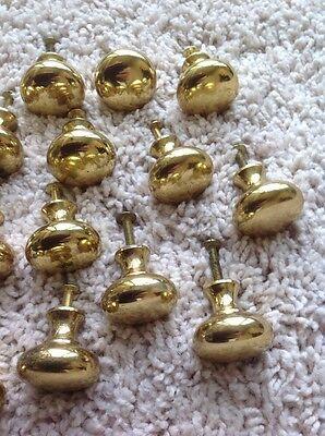 Vintage Brass Door Knobs Hardware 3