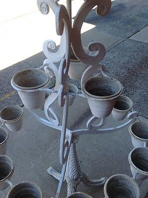 Rare Vintage Molla Tiered Garden Plant Stand Planter WILL SHIP 9