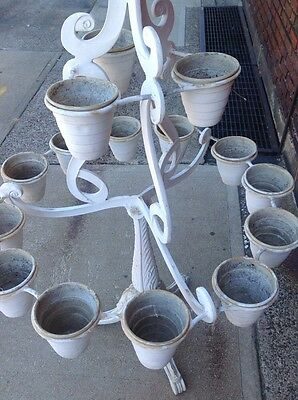 Rare Vintage Molla Tiered Garden Plant Stand Planter WILL SHIP 10