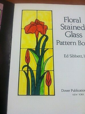 8 Of 12 Celtic Stained Glass Coloring Book Floral Pattern Sibbett