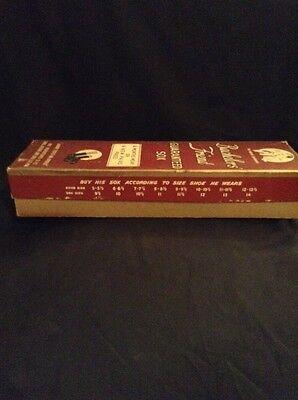 Great Gag Gift Box Vintage Socks Box Bachelors Friend Display 1940s Empty