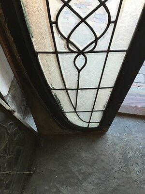 Sg 792 Antique Arch Beveled Glass Window 5