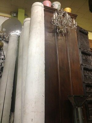 Old Antique Vintage Post Wood Columns 4