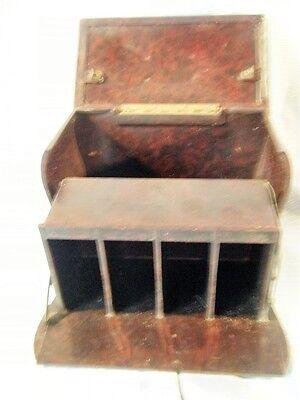 Vintage Bakelite Cigarette Dispenser Box Art Deco Storage Rare