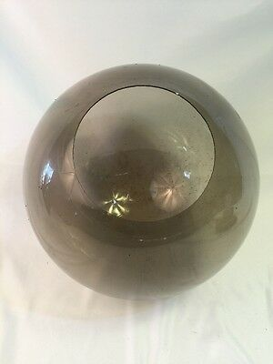 Vintage Mid Century Smokey Plexiglas Outside Pole Light Lamp Landscaping Fixture 6