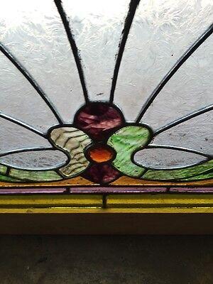 Sg 559 Antique Stainglass Victorian Window Schell Design 7