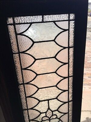 Sg 739 Antique Transom Window With Double Glass Center