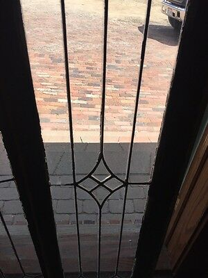 Sg 826 2 Available Price Separate Antique Leaded Transom Window 7