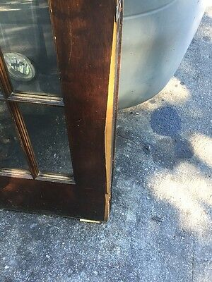 Cm 25 One Pair Antique Beveled Glass Birch 54 Inch Wide French Doors 8