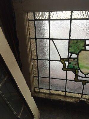 Sg 492 Antique Stainglass Window Textured Design 2