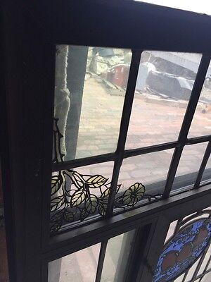 Sg 42 Vintage Stainglass Window In Thermal Frame 3