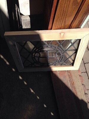 Sg 140 Antique Leaded Window 20 In 0.125 X 15 And Three Eights Hi