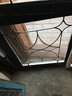 Sg 724 Antique Four Point Beveled And Leaded Window Price Each Three Available 3