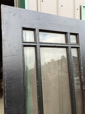 A R 25 Antique Prairie Style Beveled Glass Entrance Door 36 Inch 2