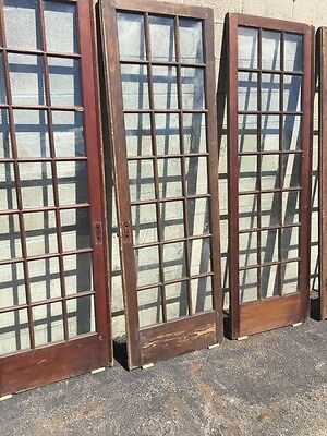 """Cm 21 For Available Price Separate Antique Pine French Door 27"""" X 84 X11 5/8"""" 3"""