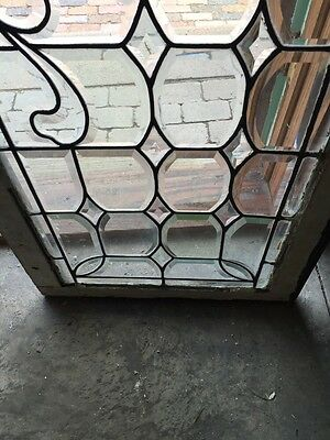 Sg 596 All Beveled Glass Transom Window 22 Inches High By 56 1/4 Long 4