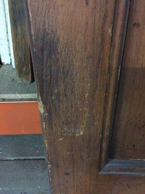 "Old Craftsman Style Kitchen Swing Door 79 1/2"" X 27 1/2"