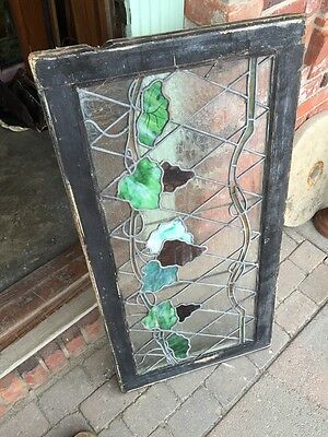 Sg 748 Antique Grape Vine Window With Painted Grapes 7