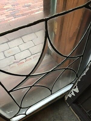 Sg 724 Antique Four Point Beveled And Leaded Window Price Each Three Available 8