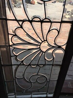 "Sg 244 All Beveled Antique Window 24"" X 52.5"" 3"