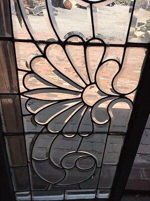 "Sg 244 All Beveled Antique Window 24"" X 52.5"" 3"