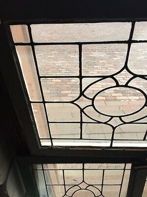Sg 655 Three Available Price Each Antique Portable Windows Leaded Glass 2