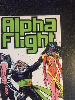 Alpha Flight#37 Incredible Condition 9.4(1986) David Ross Art!! 7