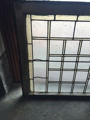 Sg 710 Antique Geometric Design Stain Window 2