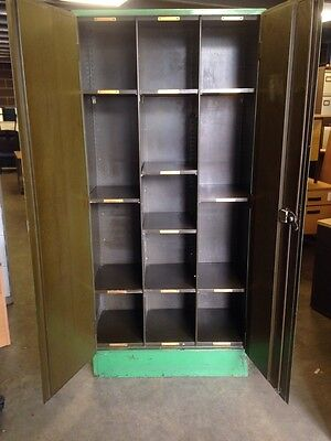 Vintage Metal Cabinet(vintage Industrial Antique) 2