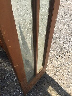 Ad 6 Pine Door Set Beveled Glass With Sidelights And Jamb