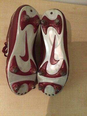 Nike Total 90111 Air Zoom Red Kids Junior Football Boots Uk 6 Eur 40 10
