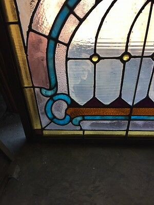 Sg 784 Antique Pastel Window With Round Jewels 6