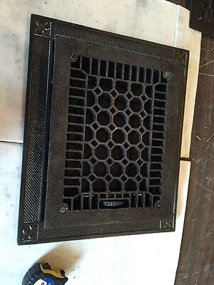 Antique Cast-Iron Honeycomb Style Heating Great Tc 92 2
