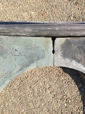 Sm6 Antique Arched Opening Fireplace Mantel Slate 5