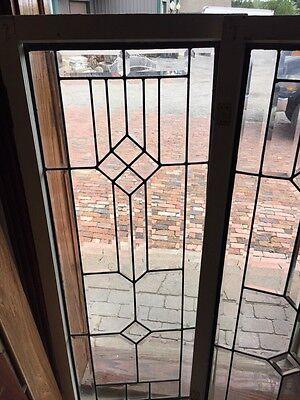 Sg 271 Pair Beveled Glass Sidelights 2
