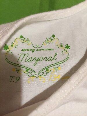 Mayoral Benetton T-shirt Coprispalle E Pantalone Bambina Bimba 9 Anni 7
