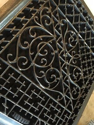 Antique Ornate Heating Grate Super Ornate  Tc 74 2