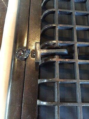 Antique Heating Grate Cast Iron Simple Squares Tc 66 3