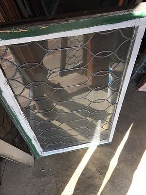 Sg 653 Two Available Price To Each Antique Leaded Glass Curly Cue Design Windows