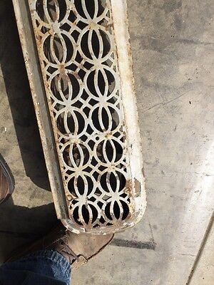 "Rta 12 Decorative Antique Cast-Iron Radiator Cover 48"" X 7"" 5"