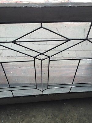 Sg 705 Two Available Price Separate Antique Leaded Glass Window 6