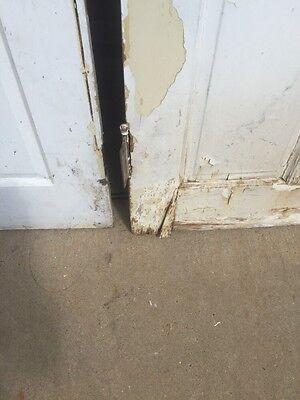 Ad 3 1 Pair Antique Double Door Leaded Glass Passage Set 11